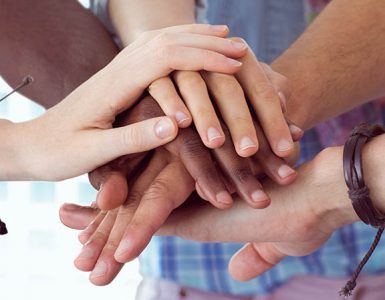 Positive Ally Empathy hands